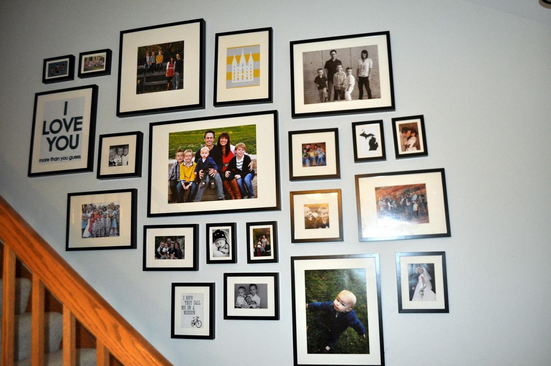 Creative Picture Hanging Ideas - talentneeds.com -