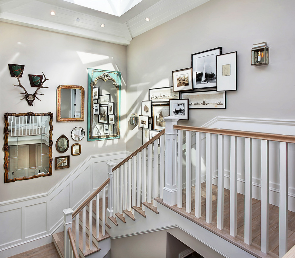 Cool Picture Wall Ideas for Stairs 3