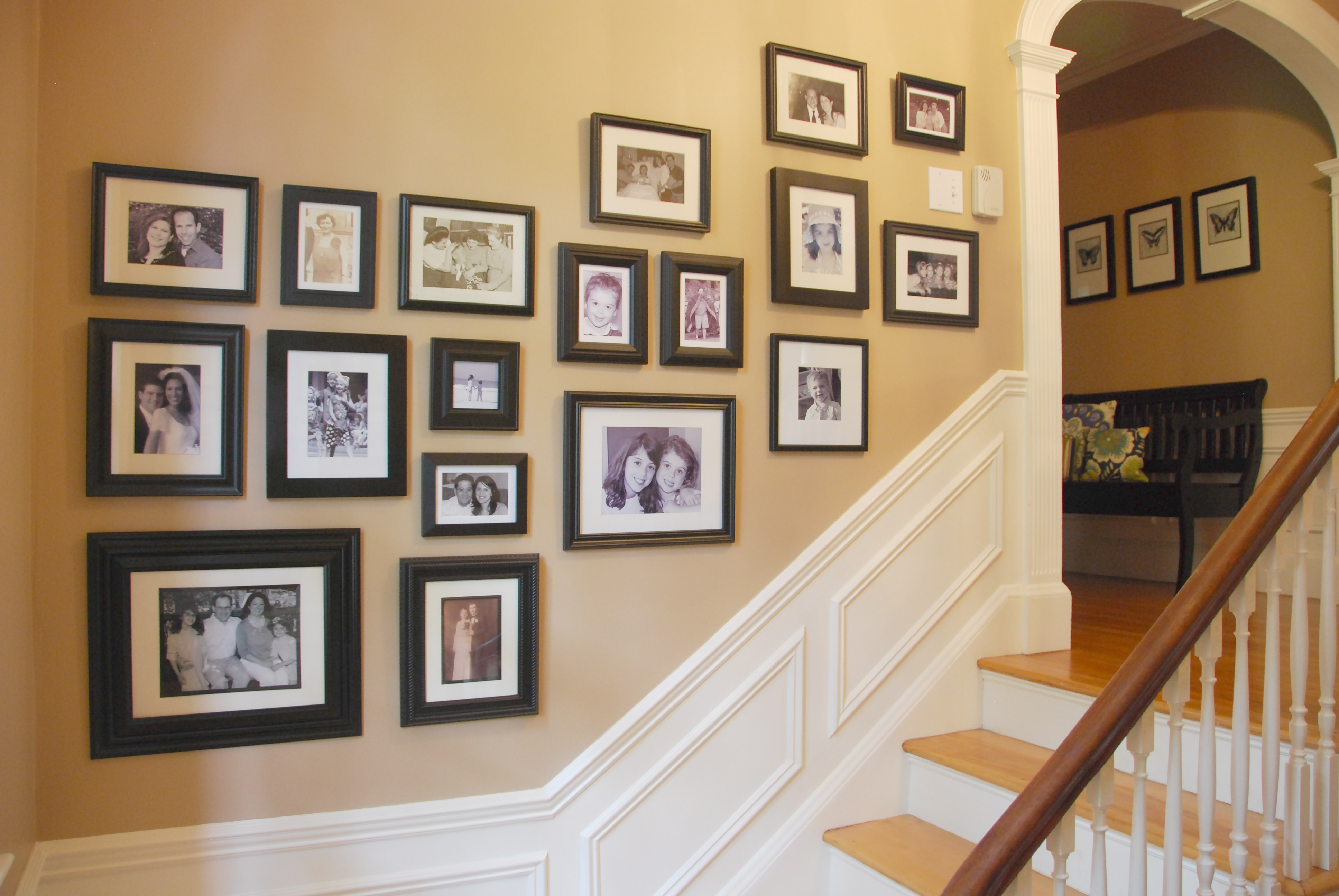 Creative Stairway Gallery Wall Ideas