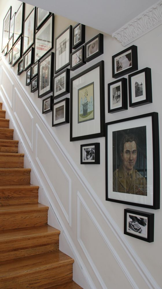 Useful Picture Wall Ideas for Stairs 2