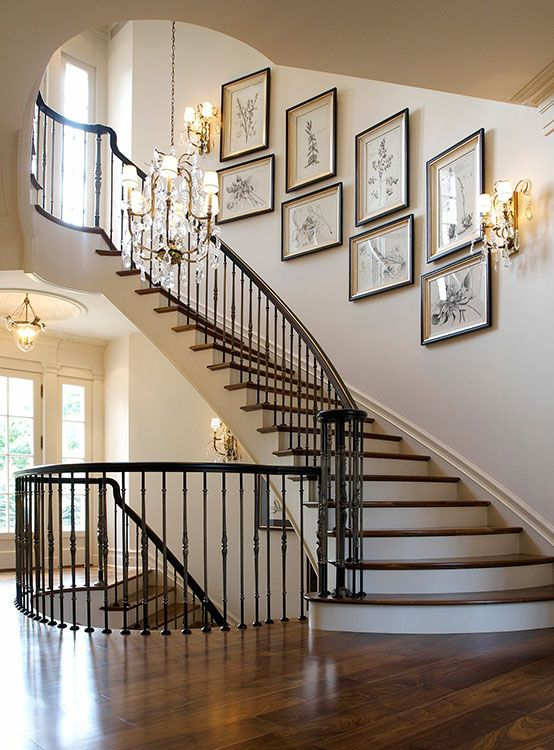? 33+ Stairway Gallery Wall Ideas To Get You Inspired