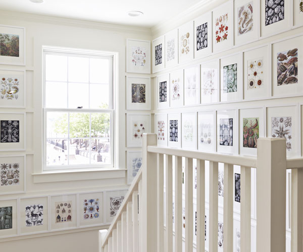 Unique Picture Wall Ideas for Stairs 2