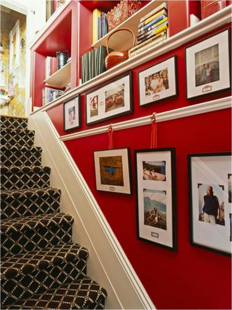 Creative Picture Wall Ideas for Stairs 1