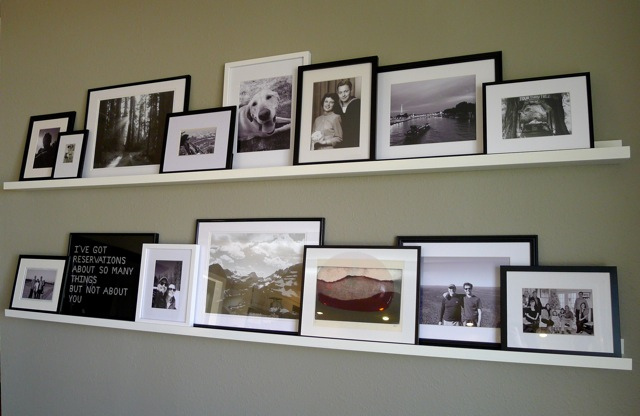 picture-wall-ideas-with-shelves