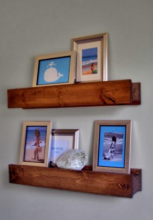 Photo Wall Display Idea #56