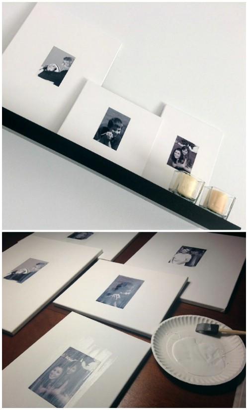 Photo Wall Display Idea #57
