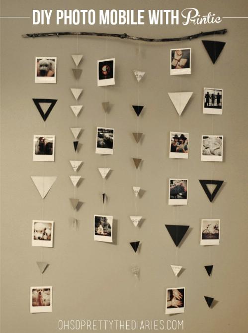 Photo Wall Display Idea #58