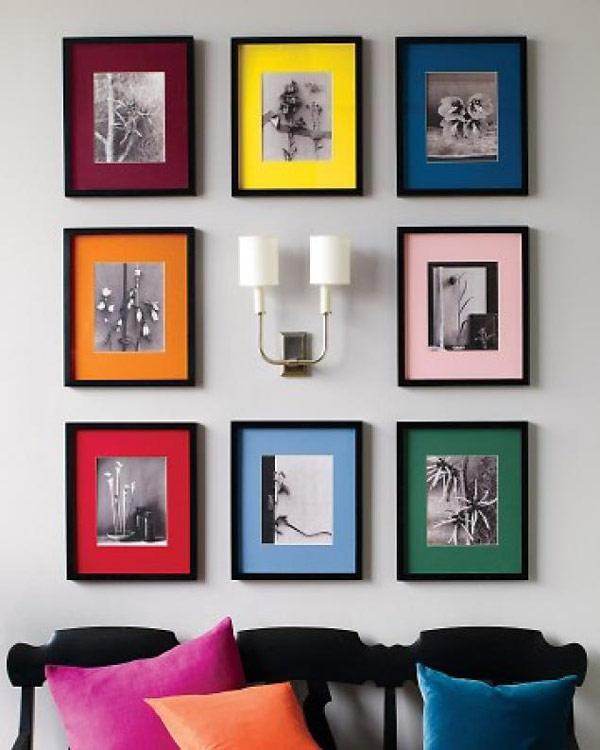 Photo Wall Display Idea #60
