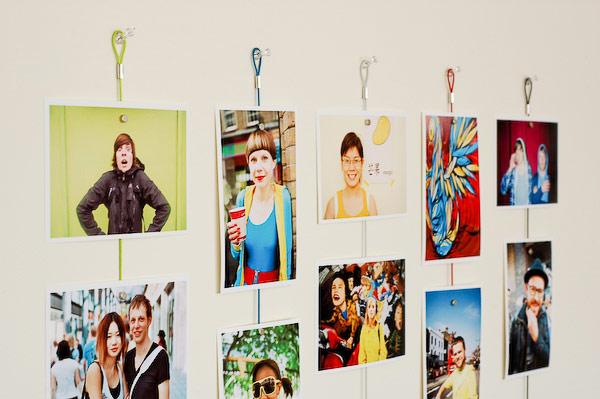 Photo Wall Display Idea #61