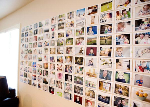 Photo Wall Display Idea #63