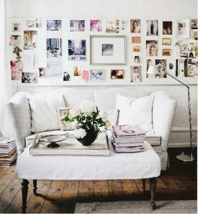 Photo Wall Display Idea #64