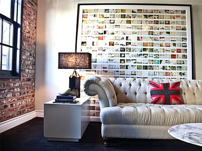Photo Wall Display Idea #65
