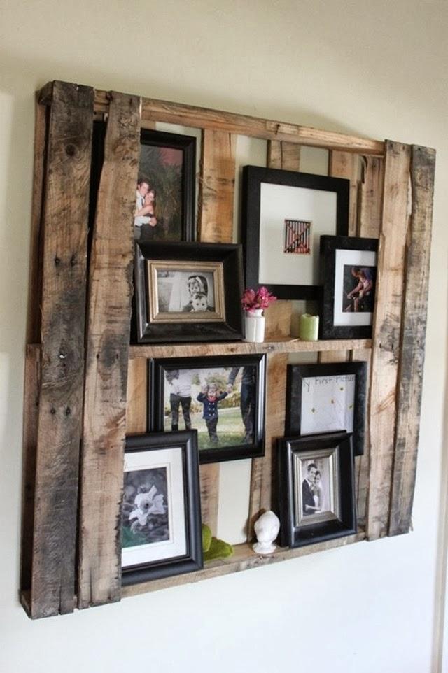 Photo Wall Display Idea #67