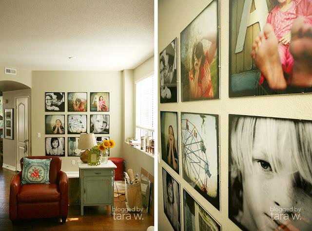 Photo Wall Display Idea #68