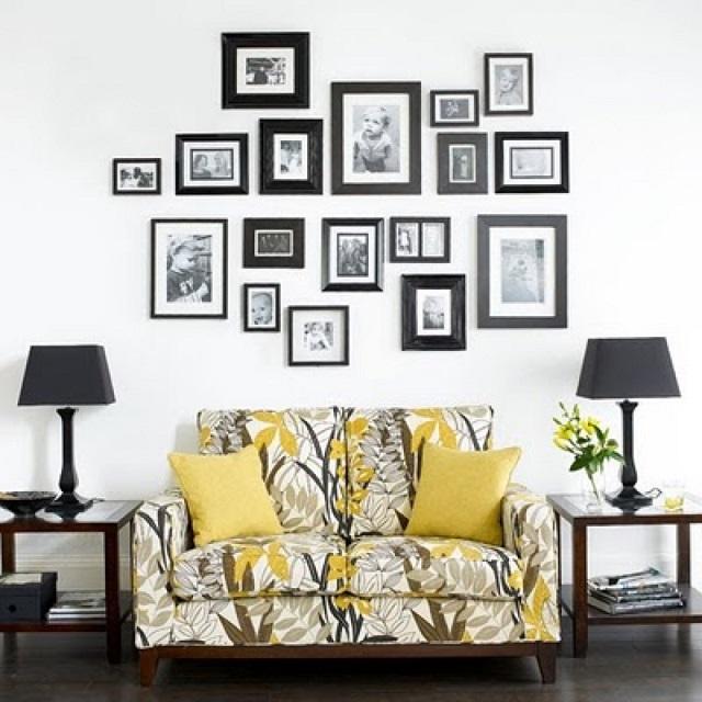 Photo Wall Display Idea #70