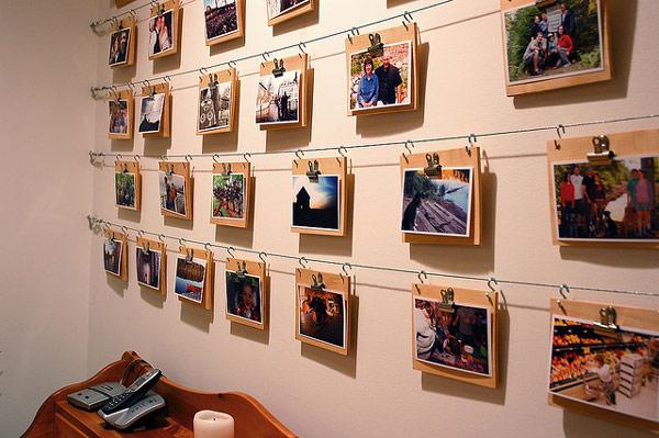 Photo Wall Display Idea #72