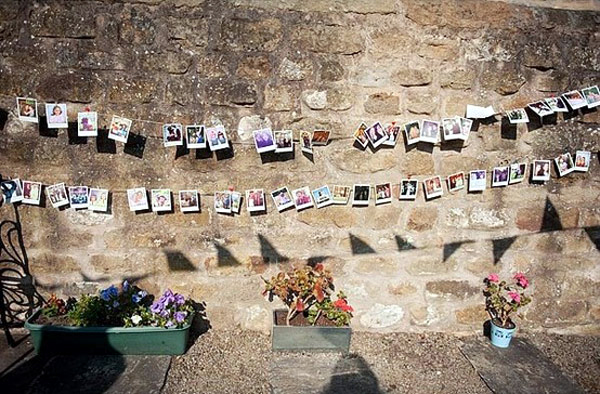 Photo Wall Display Idea #73