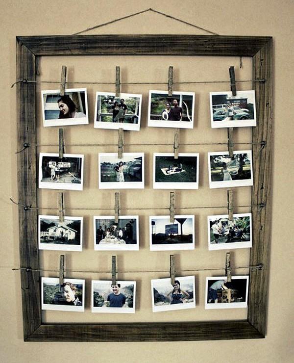 Photo Wall Display Idea #75