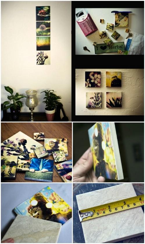 Photo Wall Display Idea #76