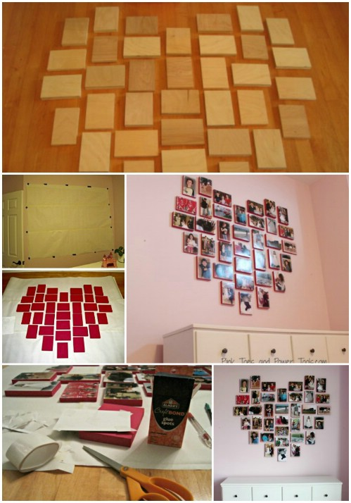Gallery Wall Idea #4 - Heart Collage