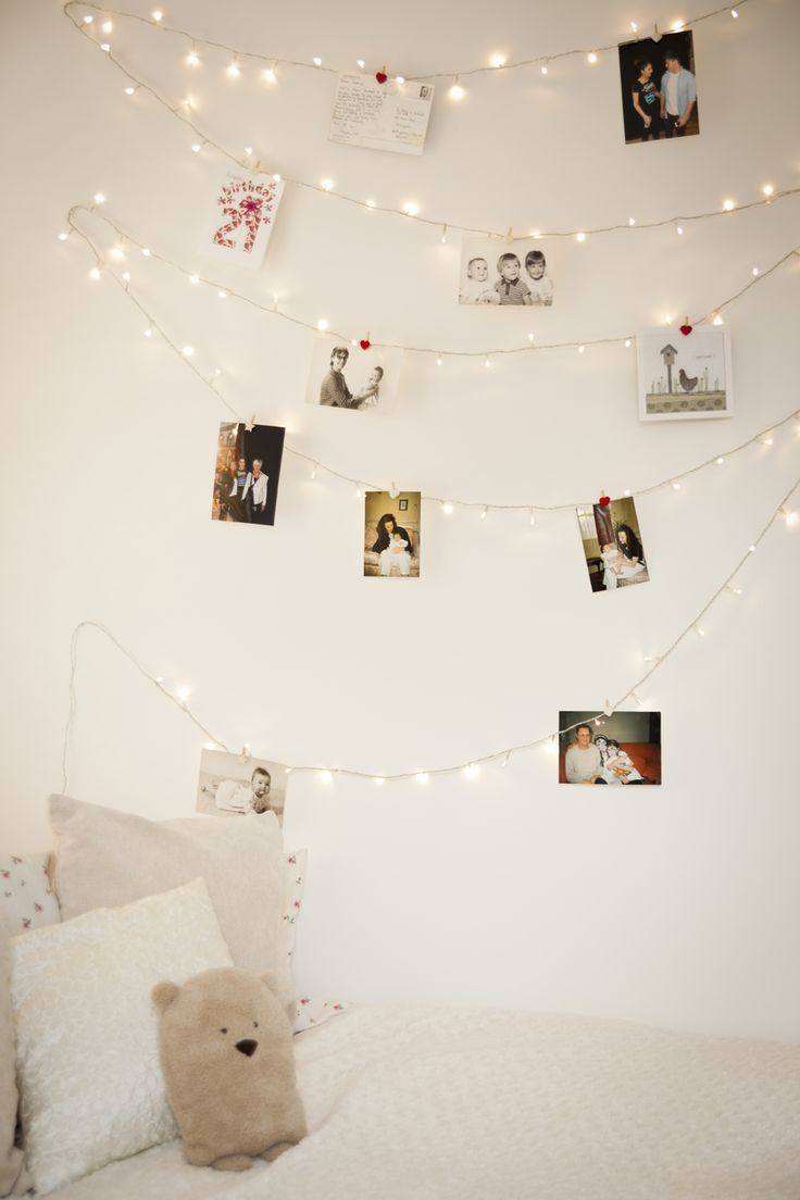 Gallery Wall Idea #10 - Strings and Clips