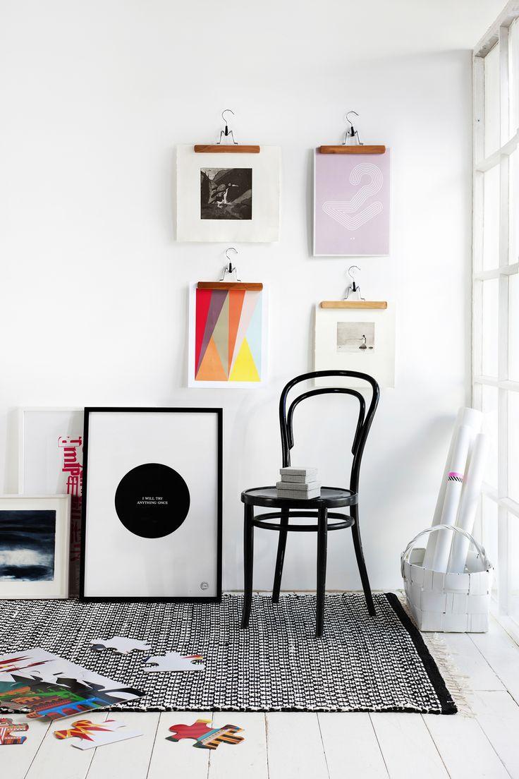 Photo Wall Display Idea #50
