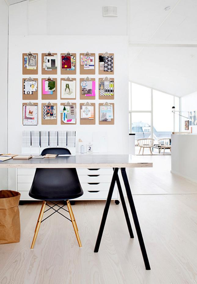 Unique Idea For Designing a Photo Wall #18