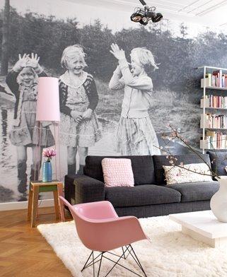 Unique Idea For Designing a Photo Wall #25