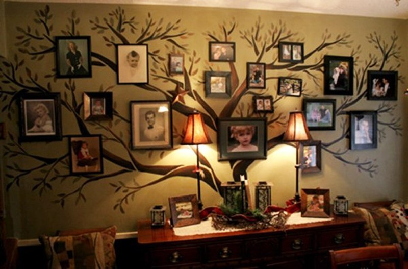 Gallery Wall Idea #16 - Family Tree