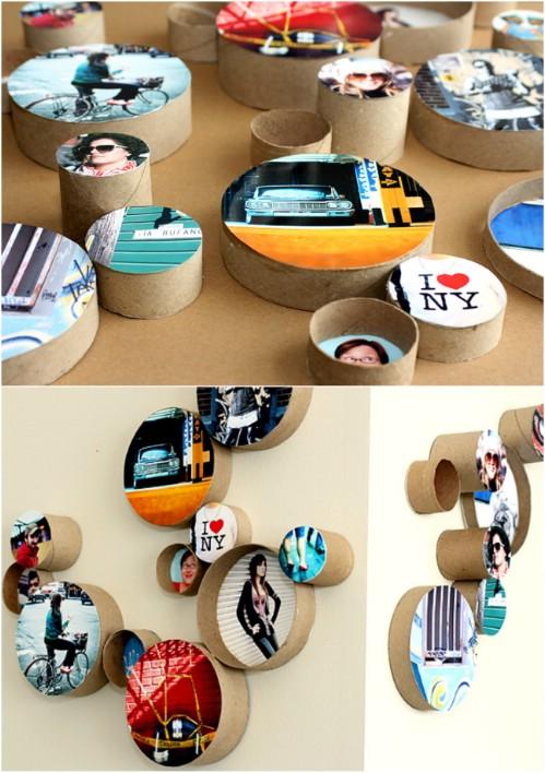 Photo Wall Display Idea #52