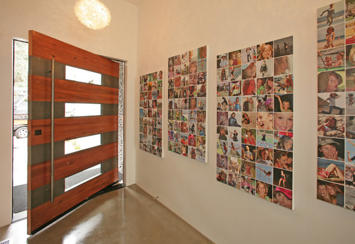 Photo Wall Idea 11 Large Multiple Collage