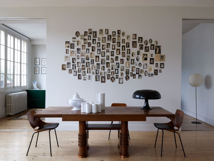 Gallery Wall Idea #23 - Free-form Photo Collages