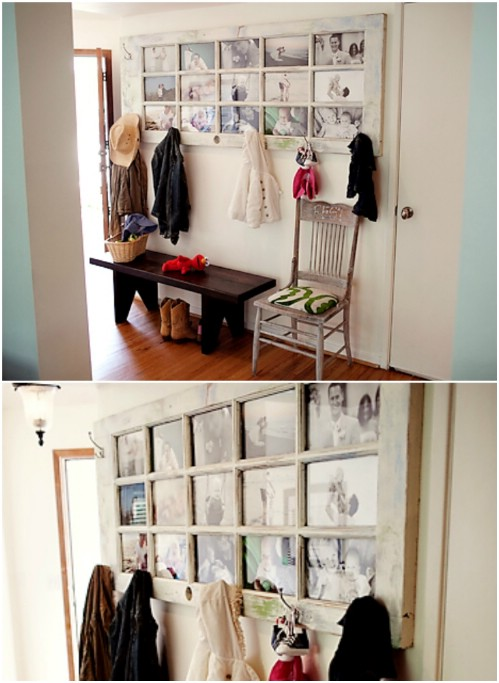 Gallery Wall Idea #19 - Recycled Door