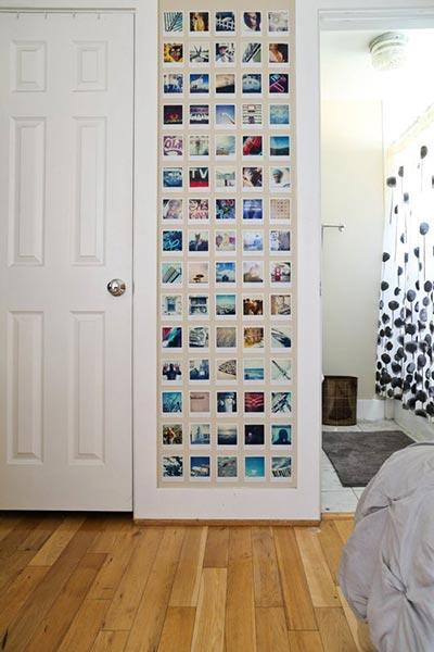 Photo Wall Display Idea #30