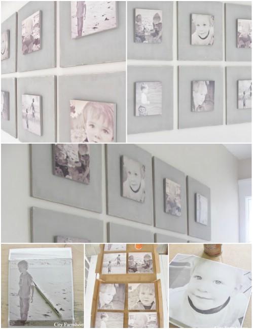 Photo Wall Display Idea #55