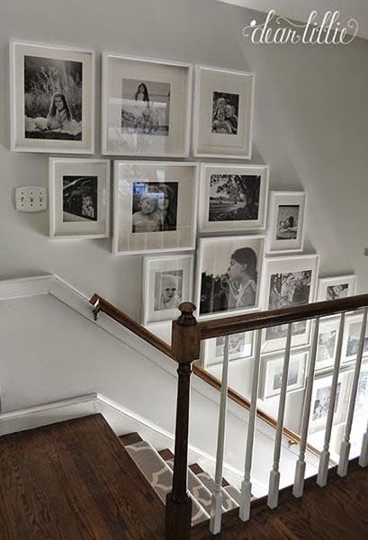 Photo Wall Display Idea #36