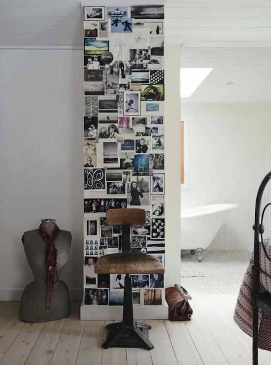 Photo Wall Display Idea #2