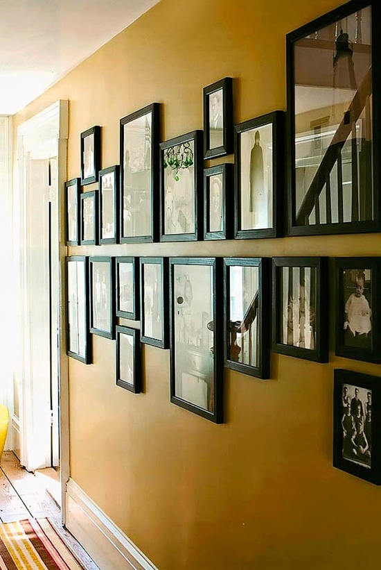 Photo Wall Idea #15 To Display Family Photos