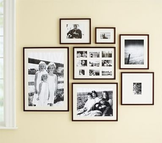 Photo Wall Idea #16 To Display Family Photos