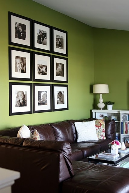 Photo Wall Idea #17 To Display Family Photos