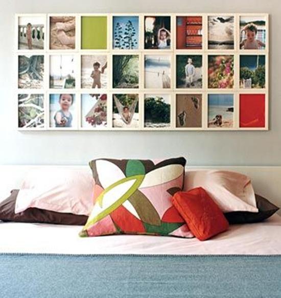 Photo Wall Display Idea #9