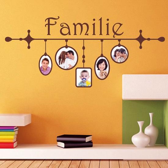 Unique Idea For Designing a Photo Wall #1