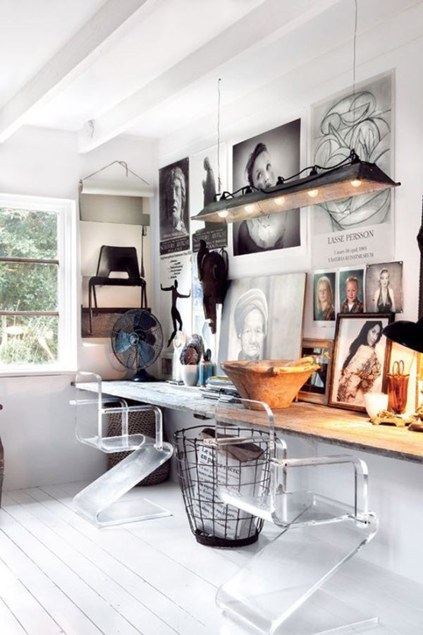 Unique Idea For Designing a Photo Wall #3