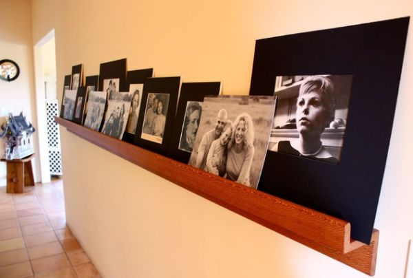 Photo Wall Idea #23 To Display Family Photos