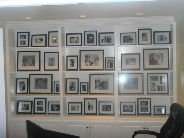 Photo Wall Idea #24 To Display Family Photos