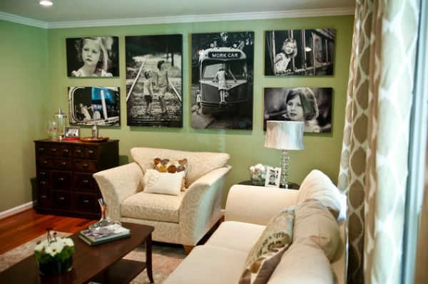Photo Wall Idea #27 To Display Family Photos