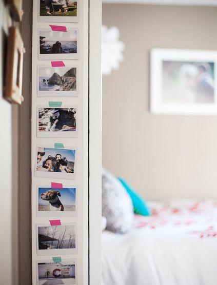 Unique Idea For Designing a Photo Wall #11