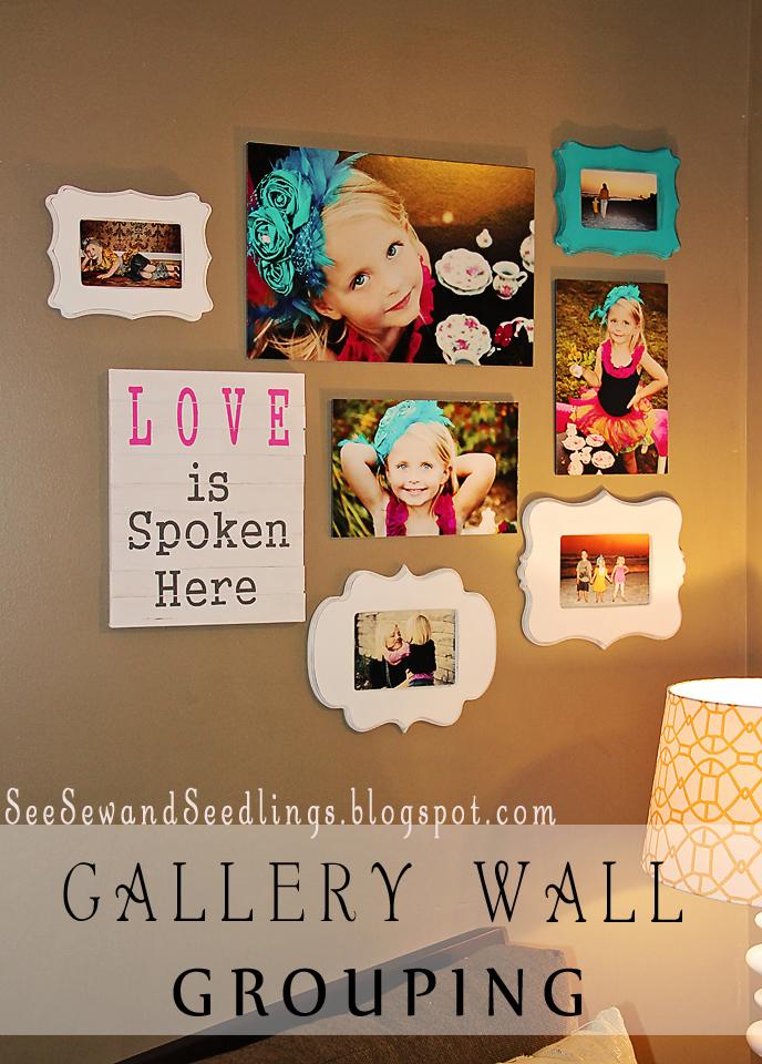 Photo Wall Display Idea #39