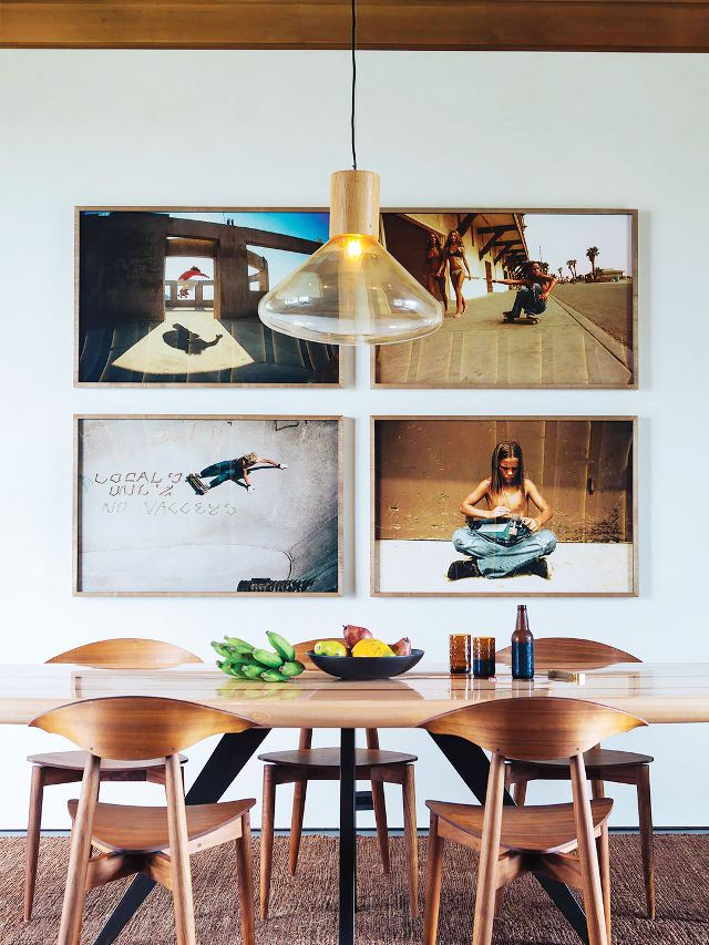 Unique Idea For Designing a Photo Wall #13