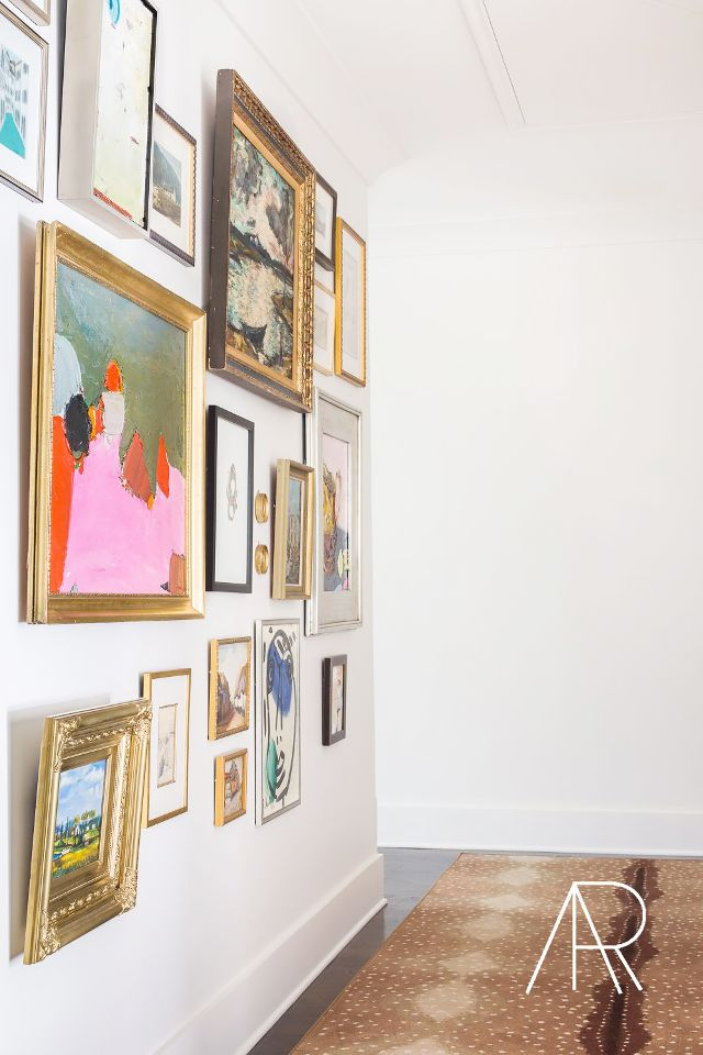 Unique Idea For Designing a Photo Wall #14